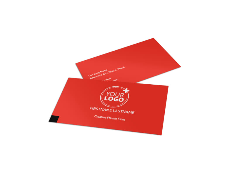 Data Analysis Consulting Business Card Template