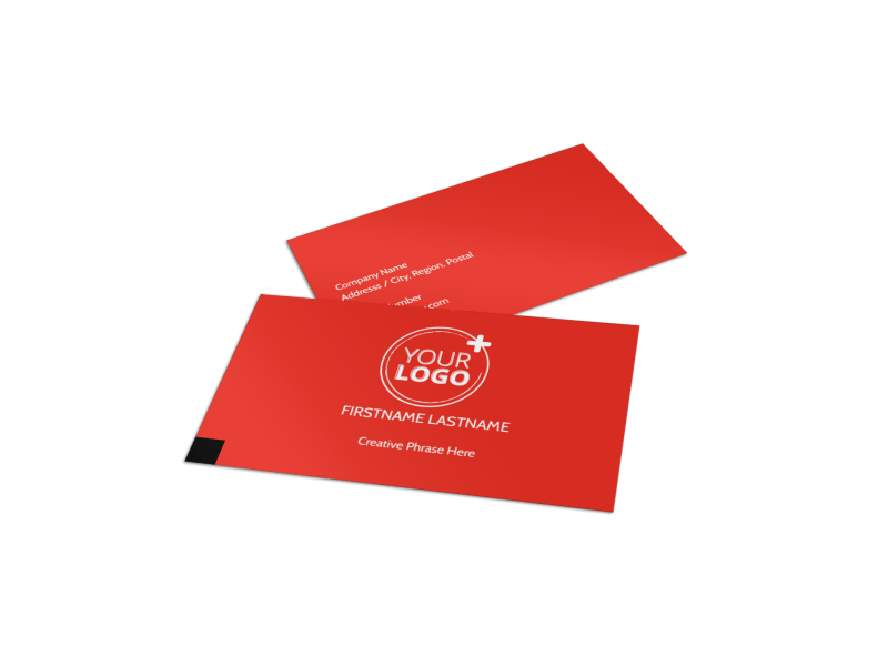 Data Analysis Consulting Business Card Template Preview 1