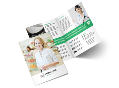 Pharmacy School Brochure Template 2 preview