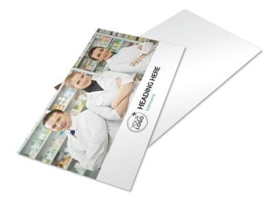 Pharmacy School Postcard Template 2 preview