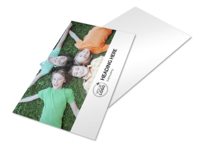 Kids Summer Camp Postcard Template 2 preview