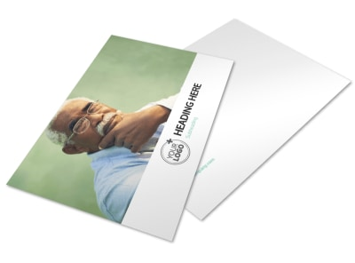 Depression & Anxiety Counseling Postcard Template 2 preview