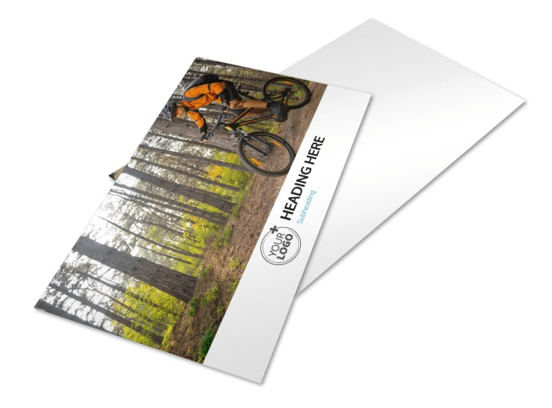 Bike Repair Postcard Template 2