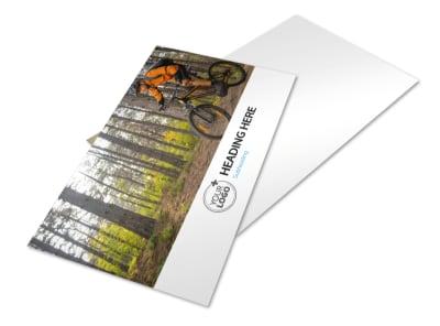 Bike Repair Postcard Template 2 preview