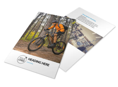 Bike Repair Flyer Template 3