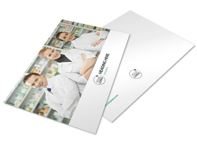 School Of Pharmacy Postcard Template Mycreativeshop