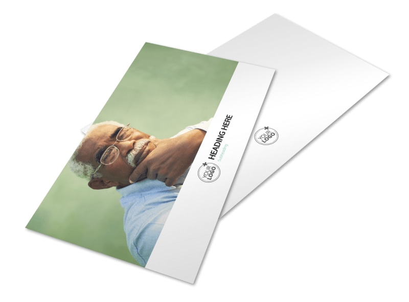 Depression & Anxiety Counseling Postcard Template Preview 4