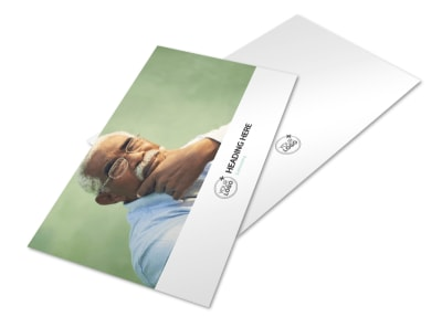 Depression & Anxiety Counseling Postcard Template preview