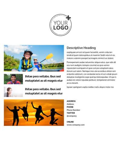 Youth Summer Camp Flyer Template Preview 2