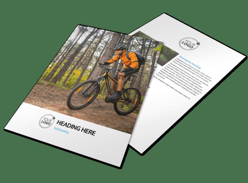 Bike Repair Flyer Template Preview 1