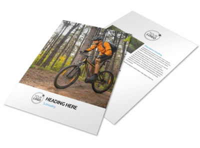 Bike Repair Flyer Template