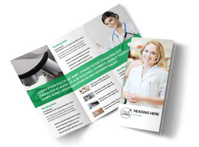 Pharmacy School Tri Fold Brochure Template preview