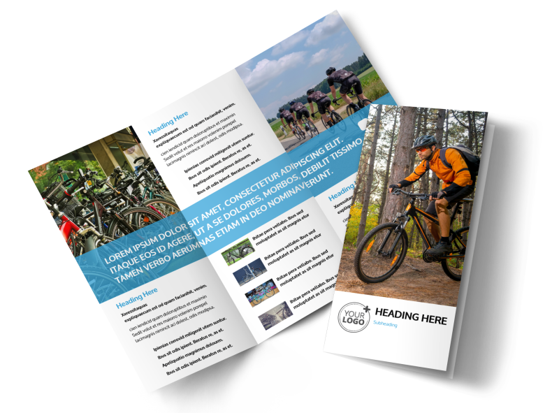 Bike Repair Brochure Template Preview 1