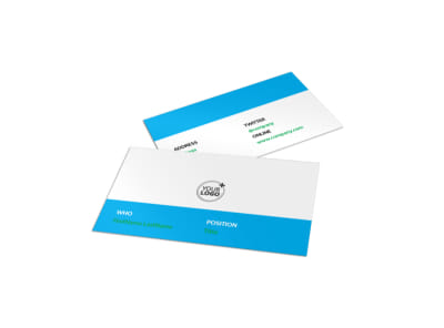 Pharmacy School Business Card Template preview