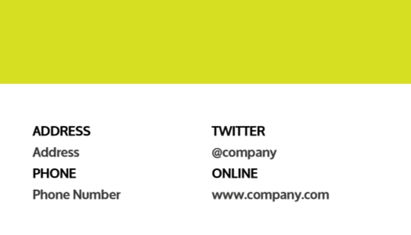 Youth Summer Camp Business Card Template Preview 3