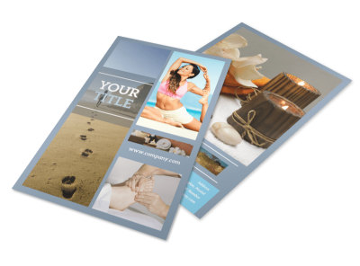 Reflexology Clinic Flyer Template 3