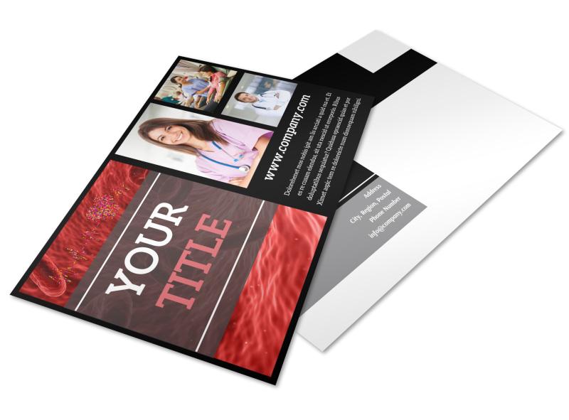 Dialysis Center Postcard Template