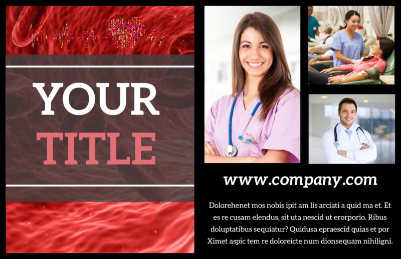 Dialysis Center Postcard Template Preview 2