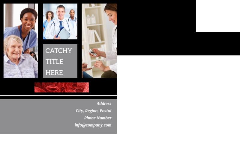 Dialysis Center Postcard Template Preview 3