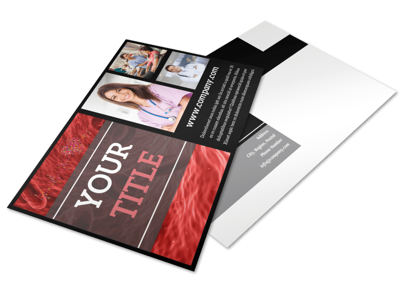 Dialysis Center Postcard Template Preview 1