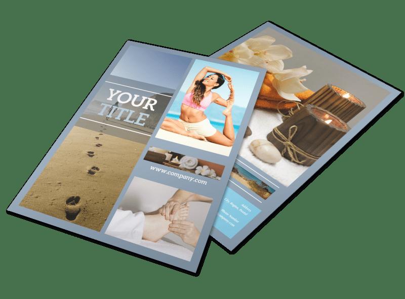 Reflexology Clinic Flyer Template Preview 1