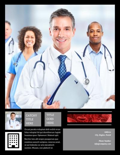 Dialysis Center Flyer Template Preview 2