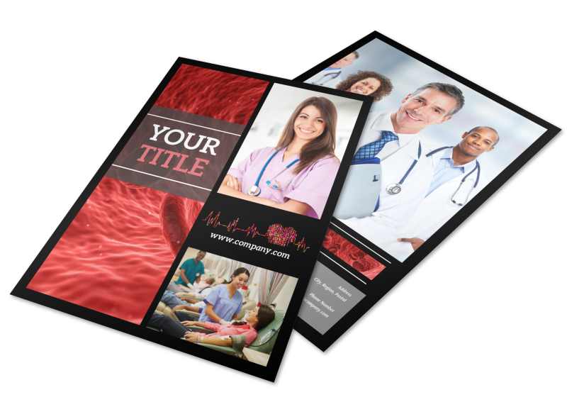 Dialysis Center Flyer Template Preview 1