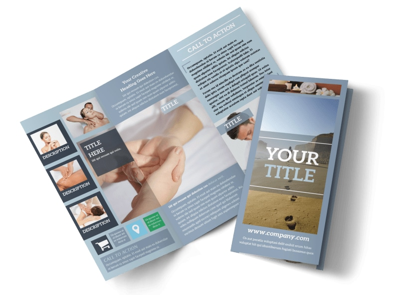 Reflexology Clinic Brochure Template Preview 4