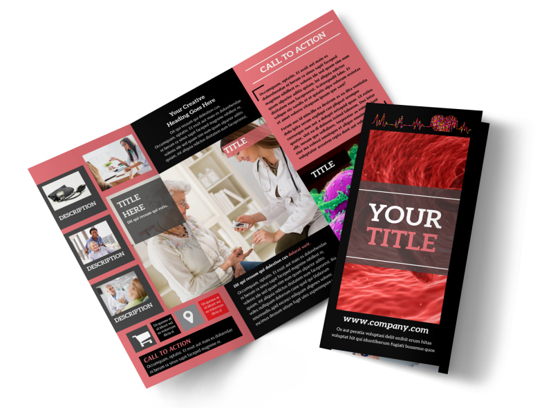 Dialysis Center Tri-Fold Brochure Template