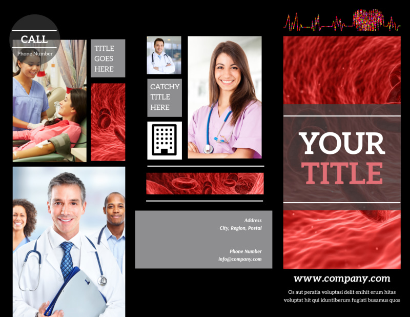 Dialysis Center Brochure Template Preview 2