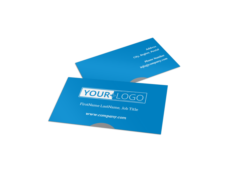 Paddleboard Class Business Card Template Preview 1