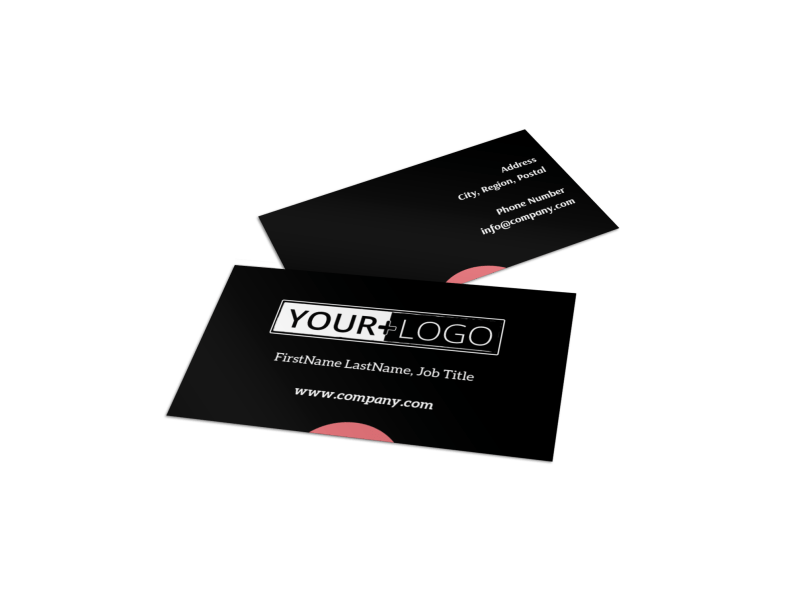 Dialysis Center Business Card Template Preview 1