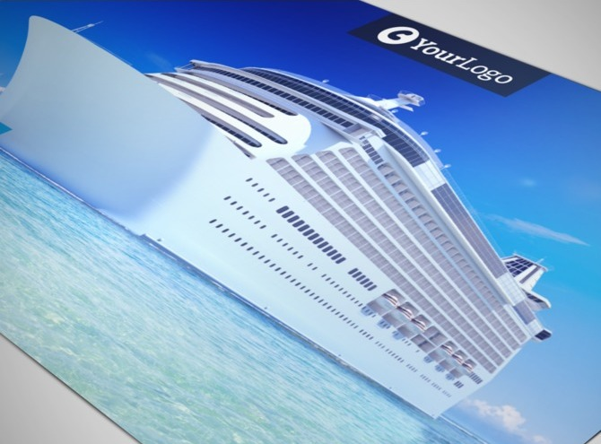 cruise ship brochure templates - cruise ship getaway postcard template
