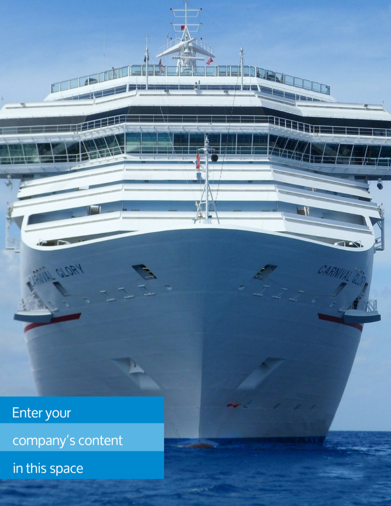 Cruise Ship Getaway Flyer Template Preview 2