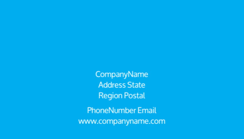 Social Media Marketing Consultants Business Card Template Preview 3