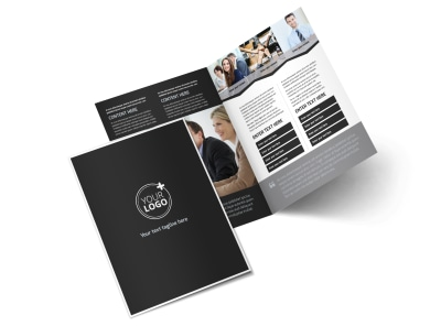 HR Services Bi-Fold Brochure Template 2