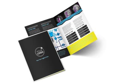 Social Media Marketing Bi-Fold Brochure Template 2 preview