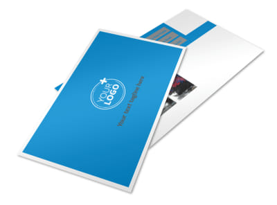 Car Wash Options Postcard Template 2 preview