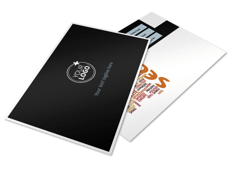 Web Hosting Postcard Template Preview 4