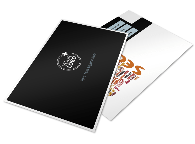 Web Hosting Postcard Template Preview 1