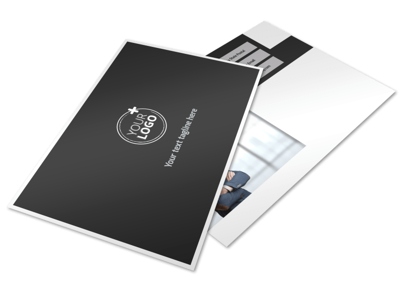 HR Services Postcard Template Preview 1