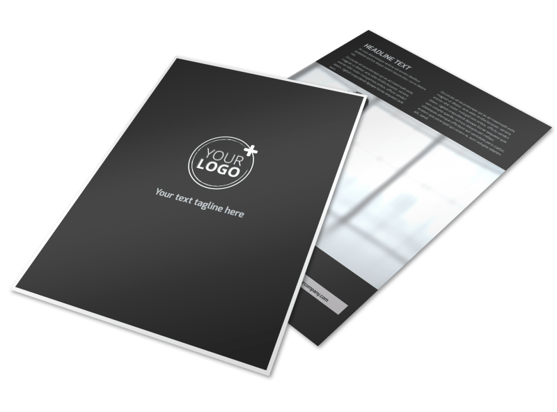 HR Services Flyer Template Preview 1