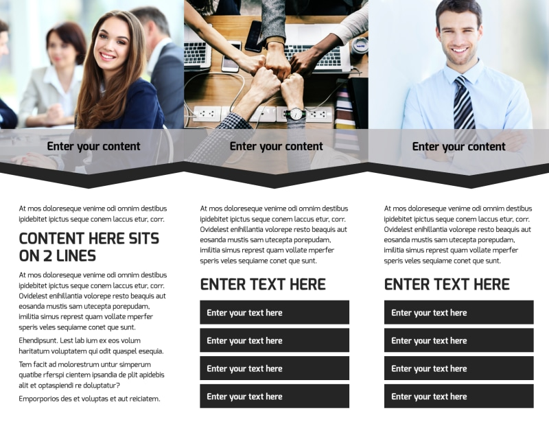 HR Services Brochure Template Preview 3