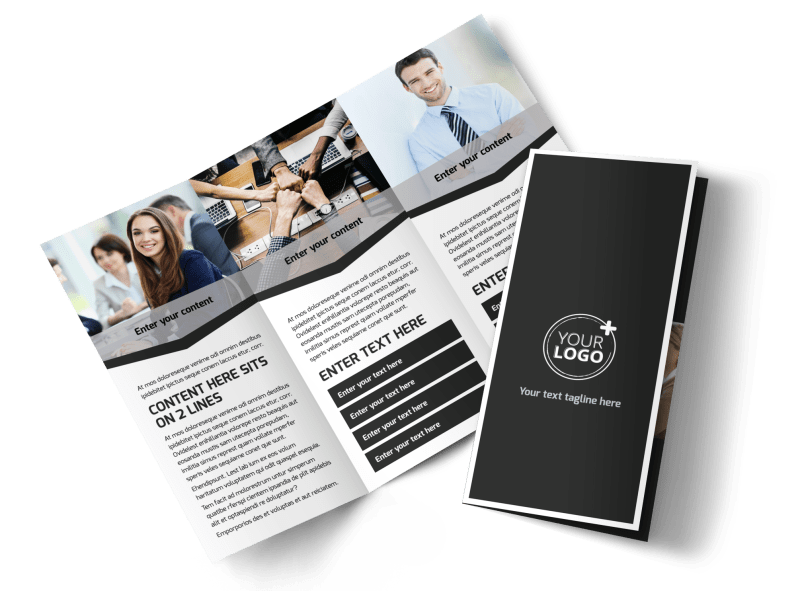 HR Services Brochure Template Preview 1