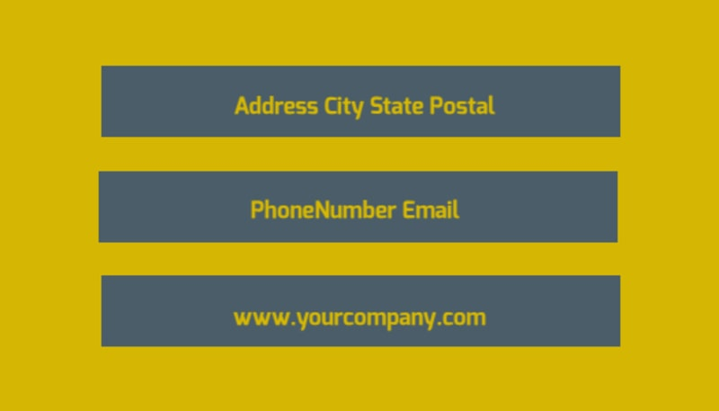 Pet Grooming Bundle Business Card Template Preview 3