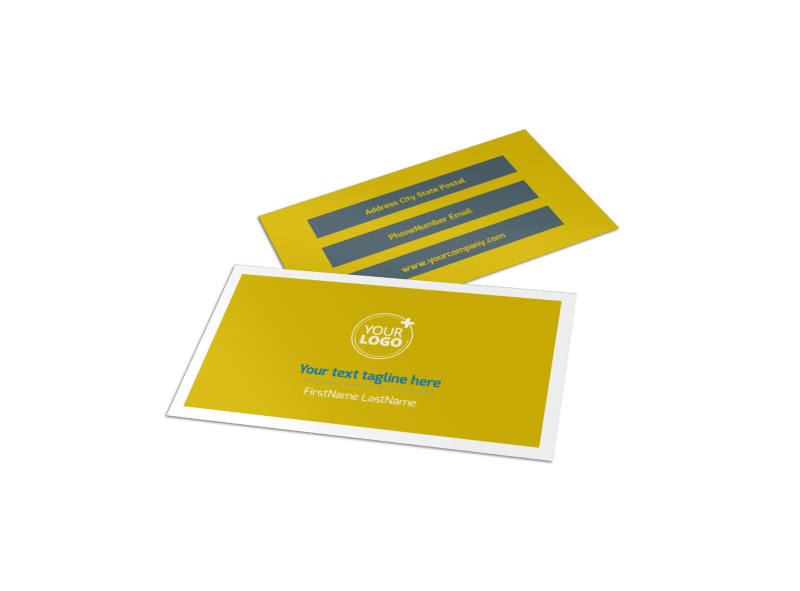 Pet Grooming Bundle Business Card Template Preview 1