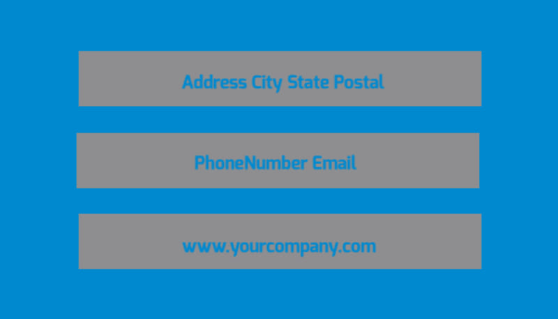 Car Wash Options Business Card Template Preview 3