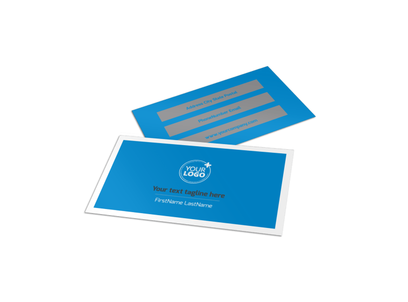 Car Wash Options Business Card Template Preview 1