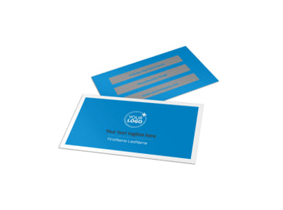 Car Wash Options Business Card Template preview