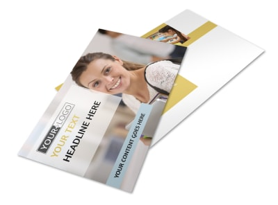 Leading Art & Design School Postcard Template 2 preview